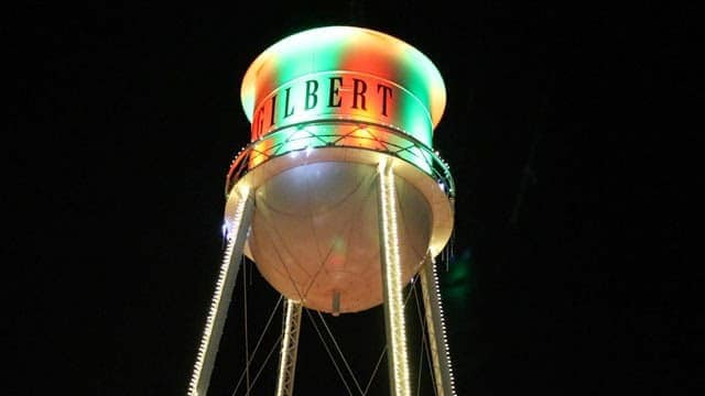 gilbert-arizona-christmas-tower